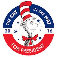 catinhat4prez campaign logo