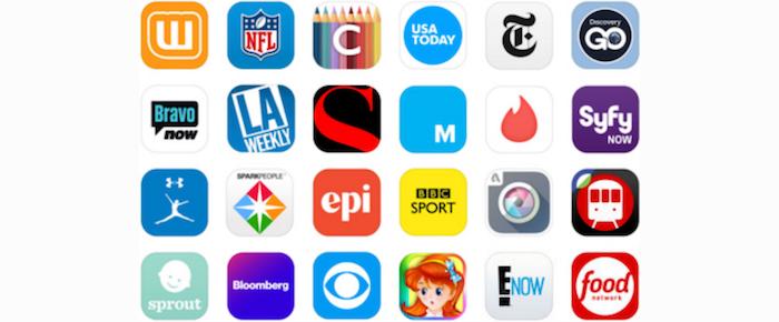 app logos