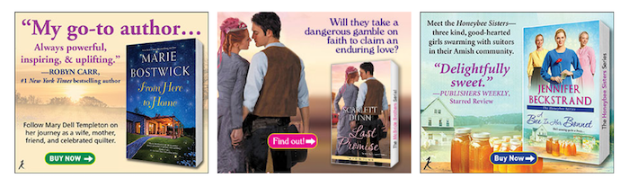 Inspirational Romance book ad examples