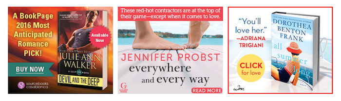 Contemporary Romance book ad examples