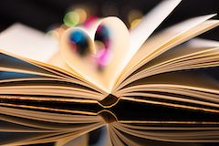 image of book pages
