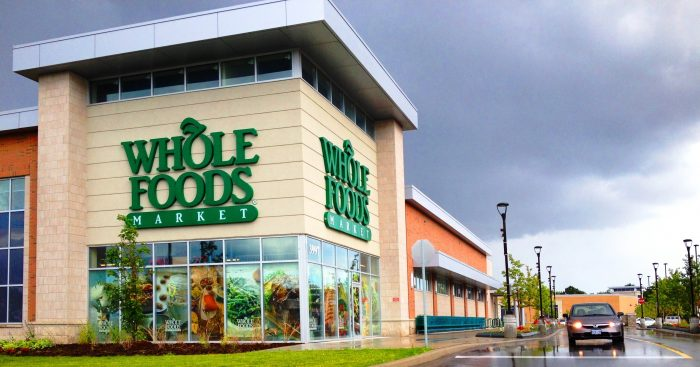 Picture of Whole Foods store